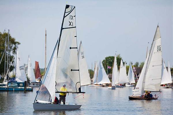 3 rivers race pre-start