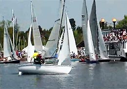 Start of the three rivers race